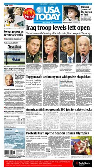 04/09/2008 Issue of USA Today