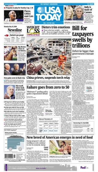 05/19/2008 Issue of USA TODAY