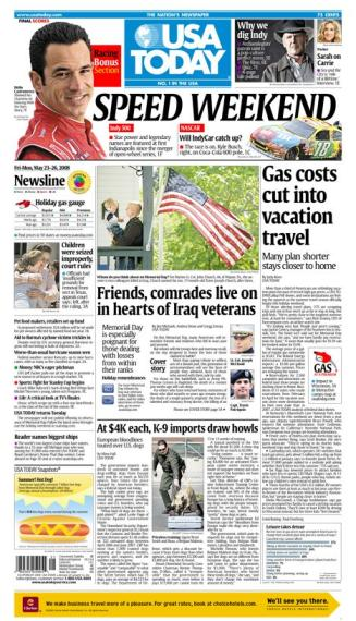 05/23/2008 Issue of USA TODAY