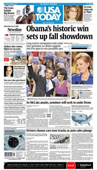 06/04/2008 Issue of USA TODAY