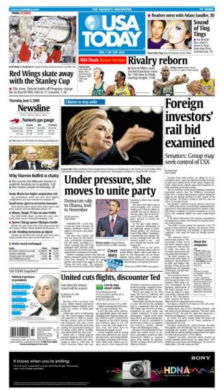 06/05/2008 Issue of USA TODAY