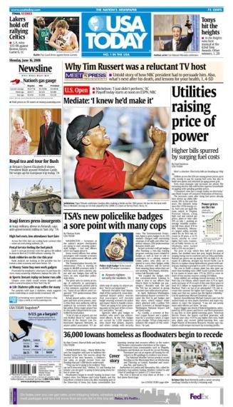 06/16/2008 Issue of USA TODAY