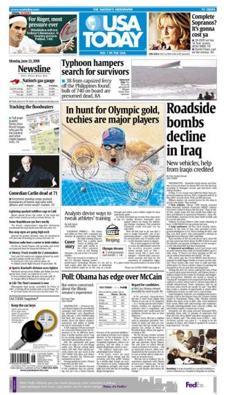 06/23/2008 Issue of USA TODAY