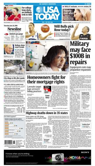 06/26/2008 Issue of USA TODAY