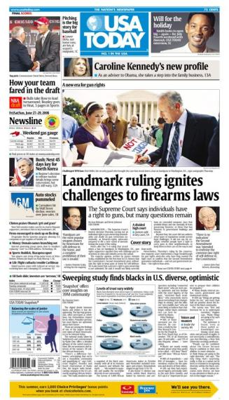 06/27/2008 Issue of USA TODAY