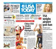 08/08/2008 Issue of USA TODAY