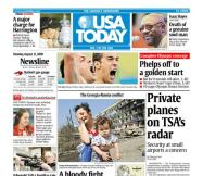 08/11/2008 Issue of USA TODAY