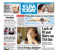 08/13/2008 Issue of USA TODAY
