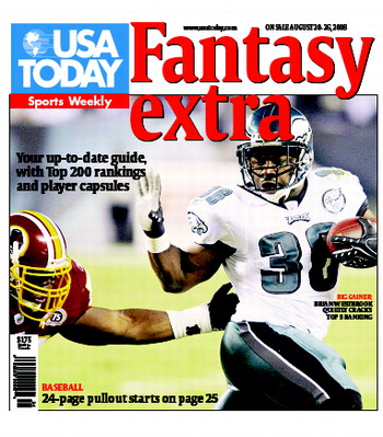 08/20/2008 Issue of Sports Weekly