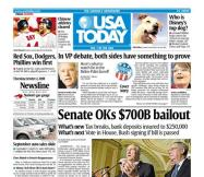 10/02/2008 Issue of USA TODAY
