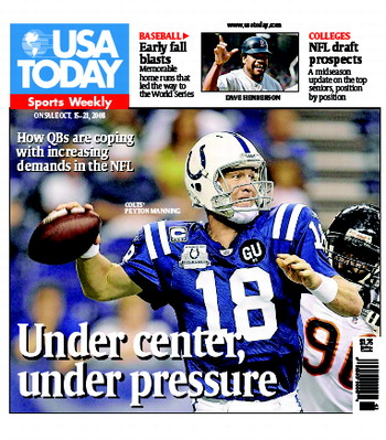 10/15/2008 Issue of Sports Weekly
