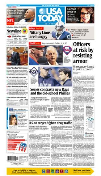 10/24/08 Issue of USA TODAY