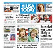 10/27/08 Issue of USA TODAY