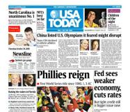 10/30/2008 Issue of USA TODAY