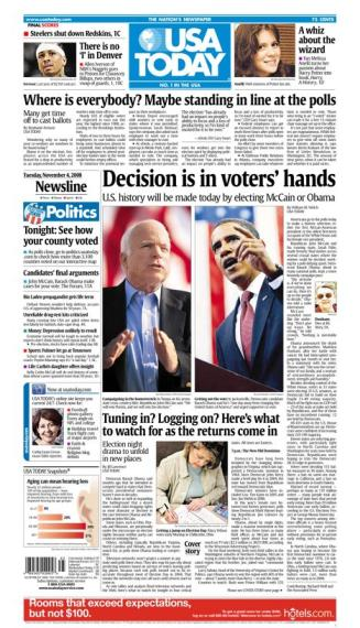 11/04/2008 Issue of USA TODAY