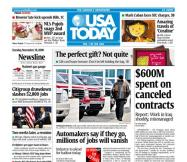 11/18/2008 Issue of USA TODAY