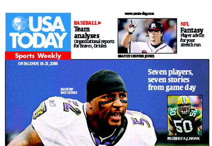 11/19/2008 Issue of Sports Weekly