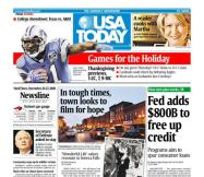11/26/2008 Issue of USA TODAY