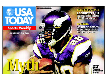 12/10/2008 Issue of Sports Weekly