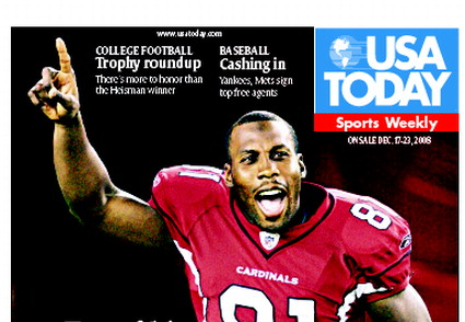 12/17/2008 Issue of Sports Weekly