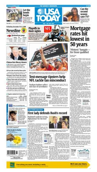 12/19/2008 Issue of USA TODAY