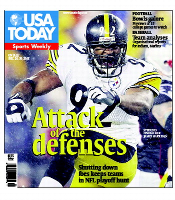 12/24/2008 Issue of Sports Weekly