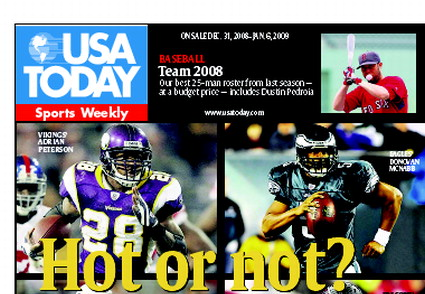 12/31/2008 Issue of Sports Weekly