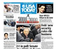 01/07/2009 Issue of USA TODAY