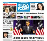 01/09/2009 Issue of USA TODAY