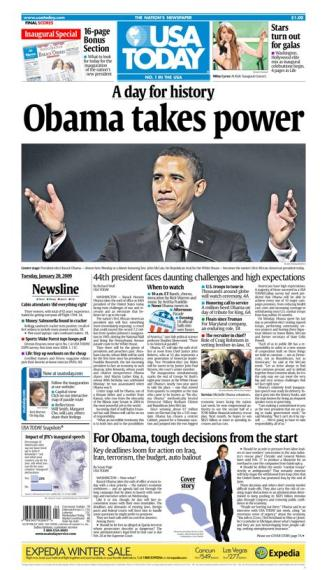 1/20/2009 Issue of USA TODAY