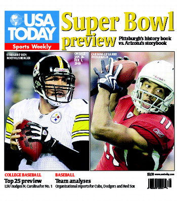 01/28/2009 Issue of Sports Weekly