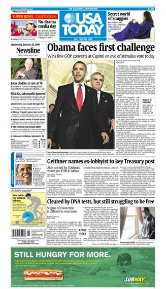 1/28/2009 Issue of USA TODAY