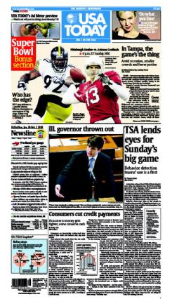 1/30/2009 Issue of USA TODAY