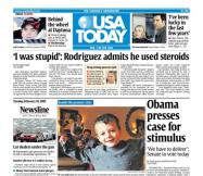 2/10/2009 Issue of USA TODAY