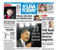 2/12/2009 Issue of USA TODAY