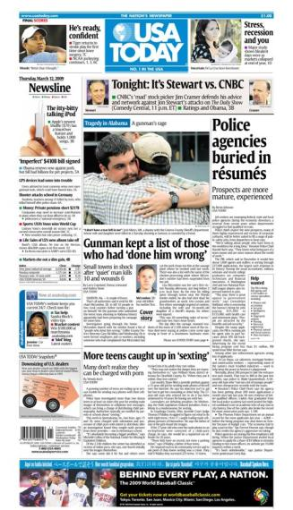 3/12/2009 Issue of USA TODAY