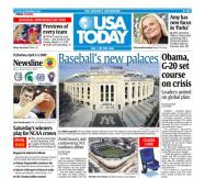 4/03/2009 Issue of USA TODAY