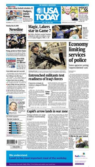 5/18/2009 Issue of USA TODAY