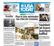 6/02/2009 Issue of USA TODAY