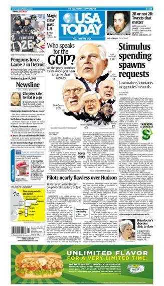 6/10/2009 Issue of USA TODAY