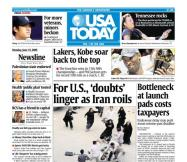 6/15/2009 Issue of USA TODAY
