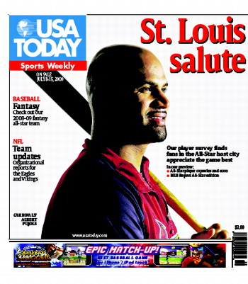 07/08/2009 Issue of Sports Weekly