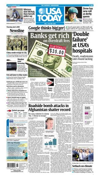 7/09/2009 Issue of USA TODAY