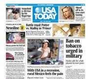 7/10/2009 Issue of USA TODAY