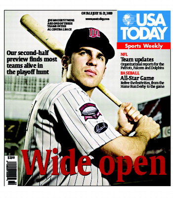 07/15/2009 Issue of Sports Weekly