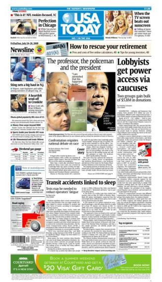 7/24/2009 Issue of USA TODAY