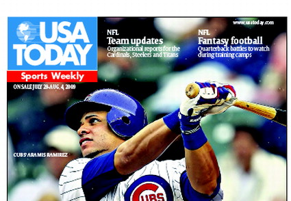 07/29/2009 Issue of Sports Weekly