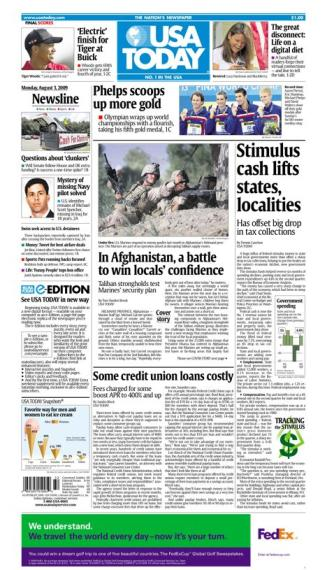 8/03/2009 Issue of USA TODAY