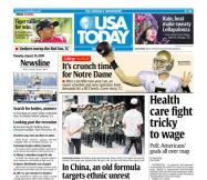 8/10/2009 Issue of USA TODAY