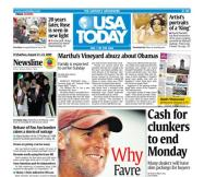 8/21/2009 Issue of USA TODAY
